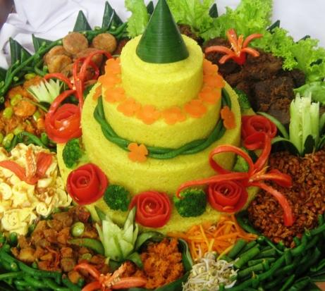 gambar nasi tumpang ulang tahun perusahaan
