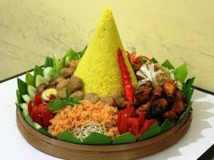 Nasi Tumpeng yang Enak dan Sedap